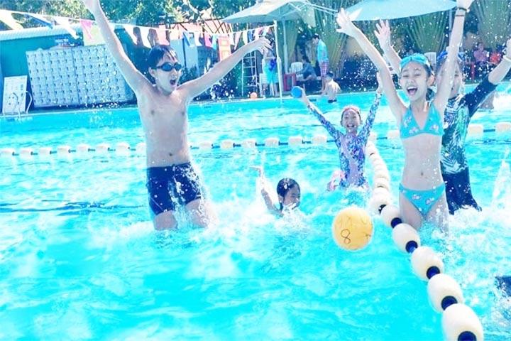 lớp học bơi tphcm swim to be live