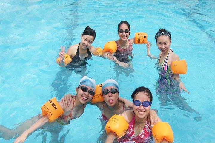 lớp học bơi tphcm yết kiêu