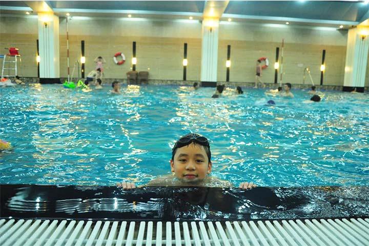 review trung tâm học bơi hapu swimming