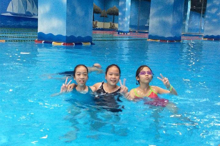 trung tâm dạy bơi bốn mùa times city