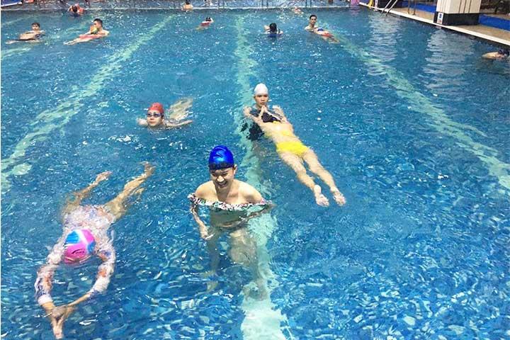 trung tâm dạy bơi hapu swimming