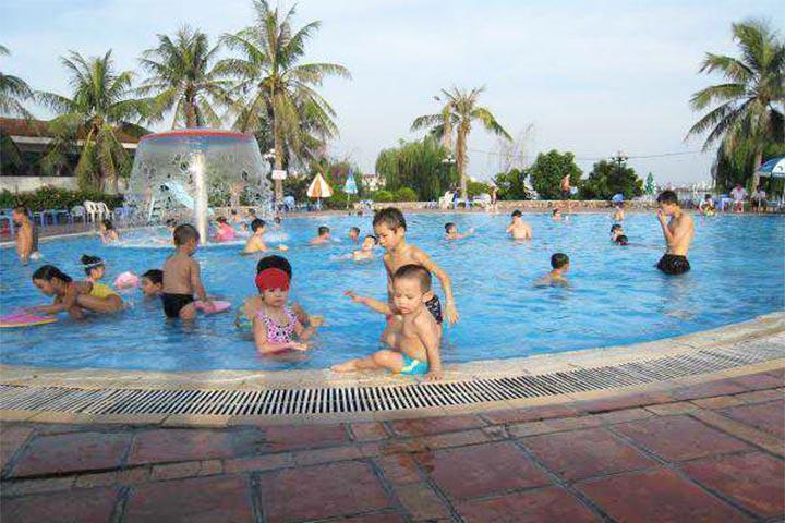 trung tâm dạy bơi sao mai