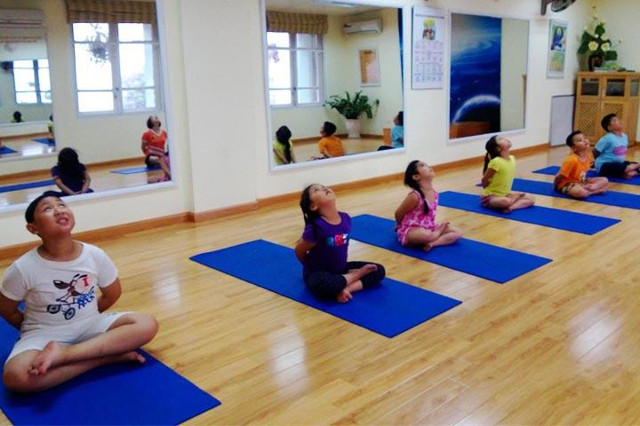 yoga trẻ em hà nội ananda