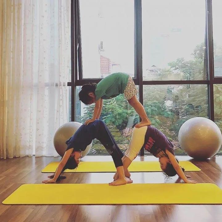yoga trẻ em hà nội anmol