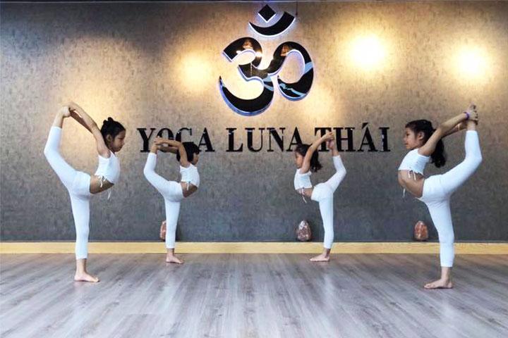 yoga trẻ em hà nội luna thái center