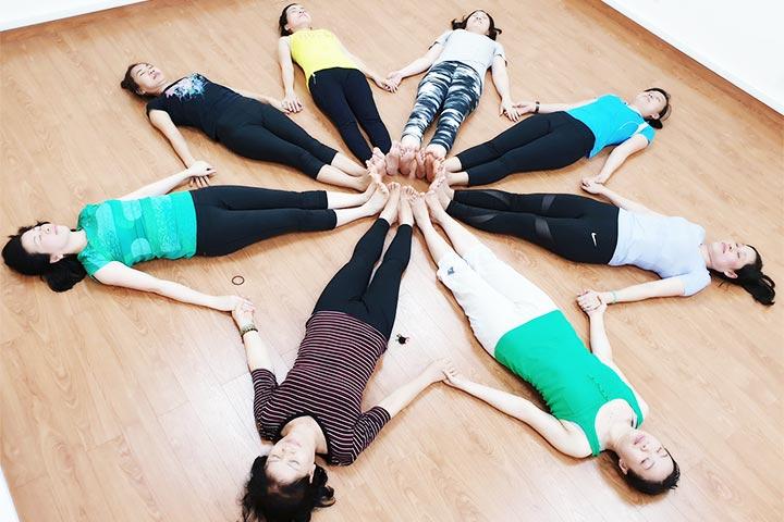 yoga trẻ em hà nội padma