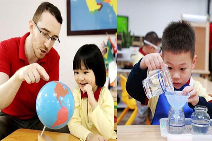 học đi đôi với hành montessori