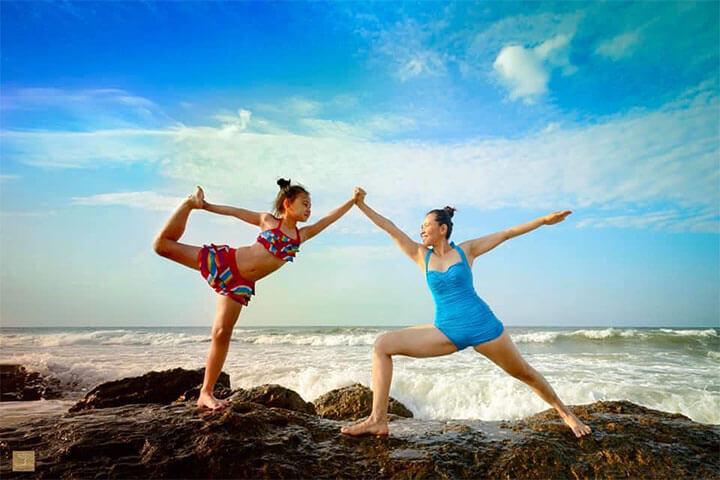 lớp học yoga trẻ em tphcm ánh bình minh