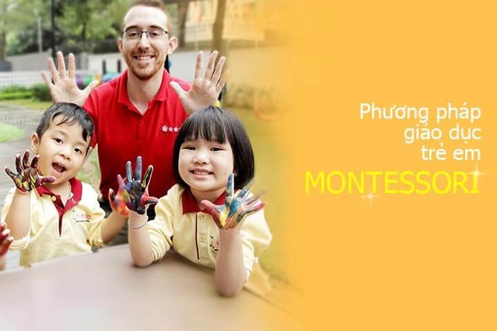 phương pháp giáo dục trẻ em montessori