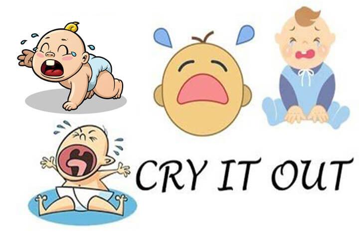 phương pháp luyện ngủ cho trẻ cry it out