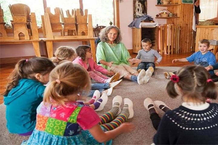 trẻ bao nhiêu tuổi học phương pháp steiner