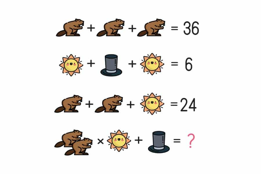 Câu hỏi đố vui toán học 2