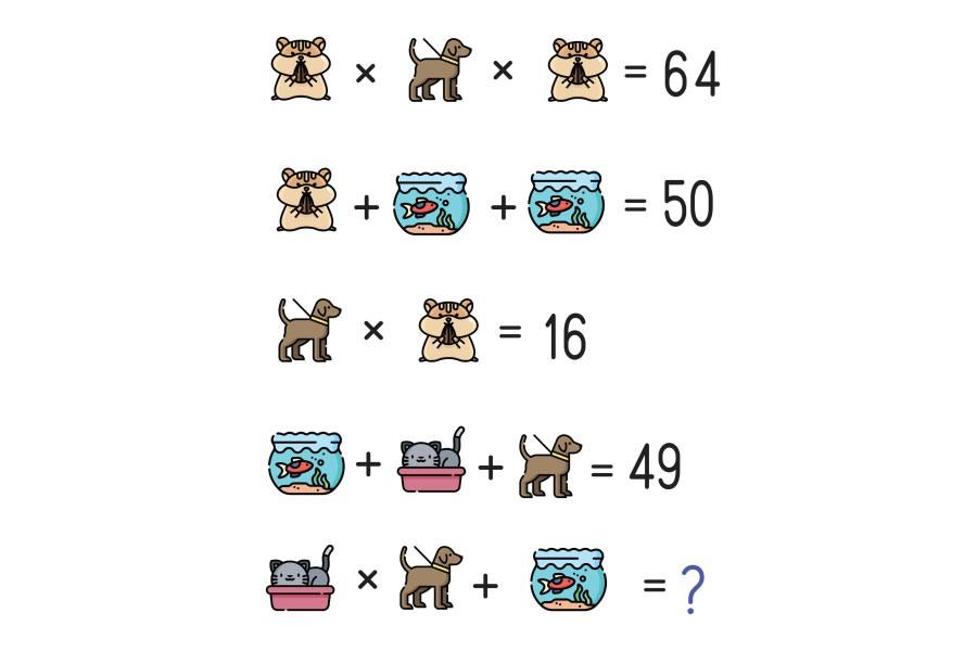 Câu hỏi đố vui toán học 4